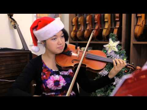 SSC Plays Christmas Music for Violin, Viola & Cello!