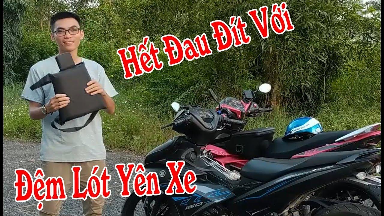 Đệm Lót Yên Xe Cho Exciter - Giải Pháp Hết Đau Đít Cho Phượt Thủ | Thanh Nam TV