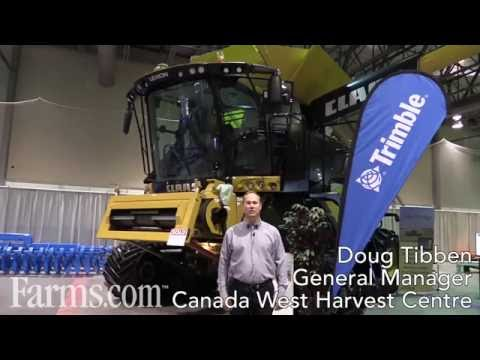 Trimble Agriculture Innovations Complement CLAAS Lexion Combine Systems.