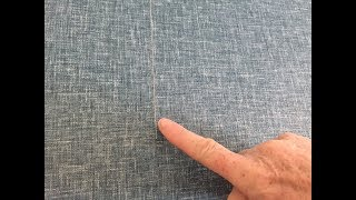 How to fix and disguise gaps and white lines in wallpaper seams
