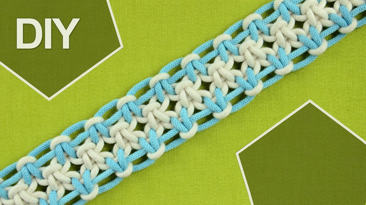 Square Knot Variations With Eight Strings Diy Tutorial