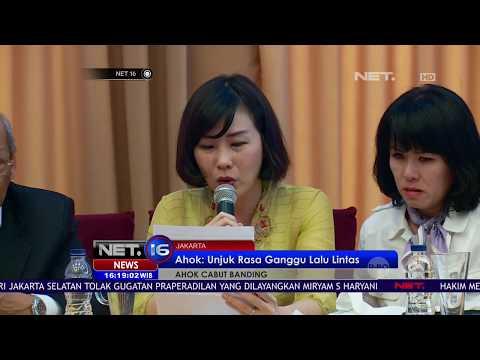 Pembacaan Surat Ahok oleh Sang Istri Veronica Tan - NET16