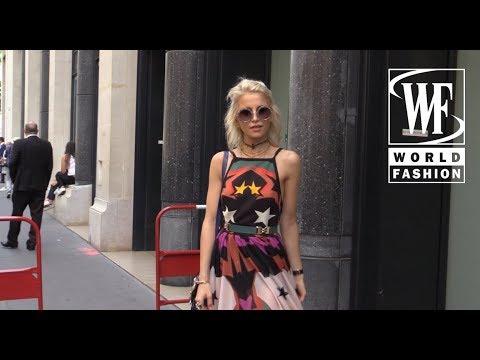 Street Style Неделя Моды Haute Couture в Париже Часть 5