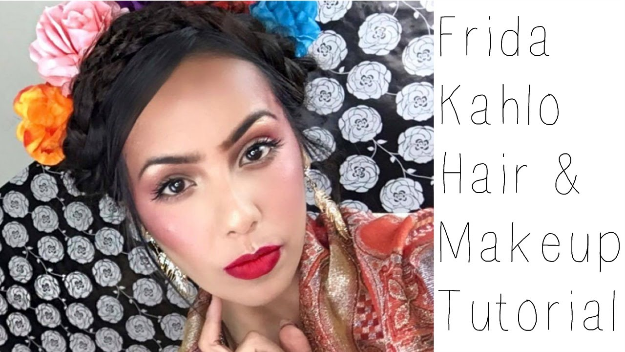 Frida Kahlo Hair & Makeup Tutorial