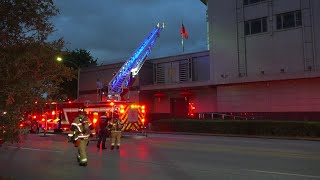 Houston fire and police respond to reports of documents being burned at Consulate General of China