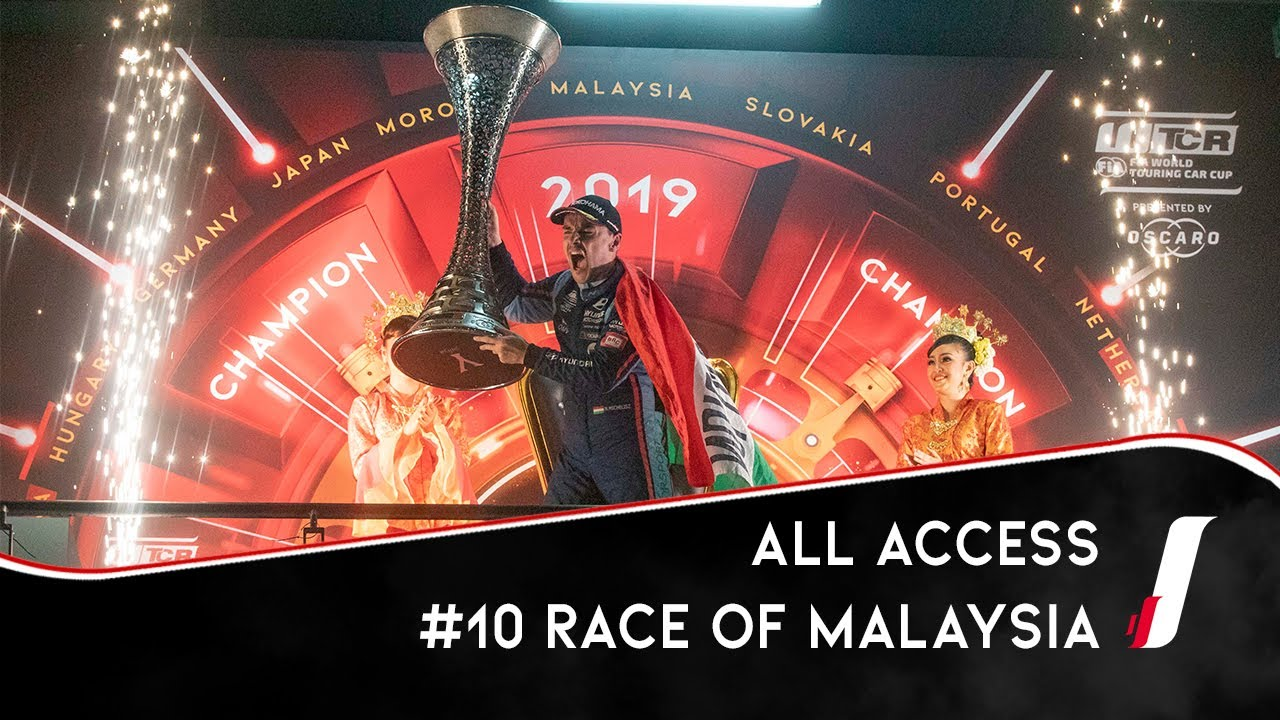 Race of Malaysia, Sepang Circuit - WTCR All Access 2019