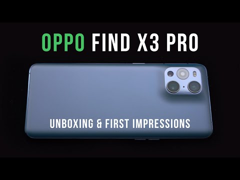 OPPO Find X3 Pro Unboxing & First Impressions: A New Flagship From OPPO