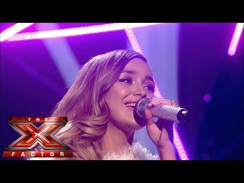 Lauren Platt sings Zedd's Clarity | Live Week 8 | The X Factor UK 2014