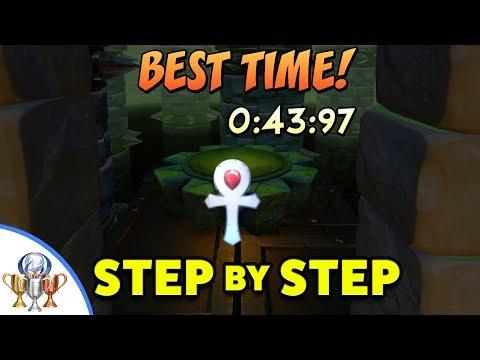 Crash Bandicoot - The Lab Platinum Relic (43:97) Step by Step Platinum Time Trial Relic Walkthrough