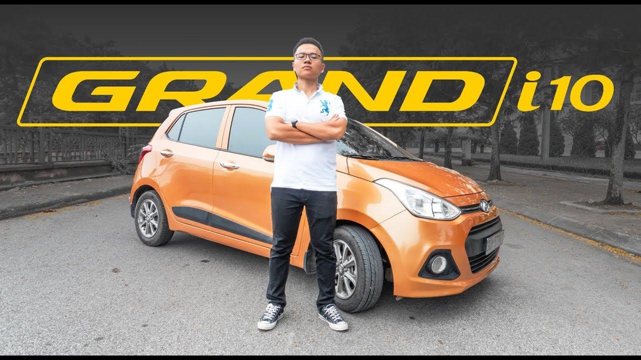 Khám phá chiếc xe Hyundai i10 bán chạy nhất phân khúc hạng A