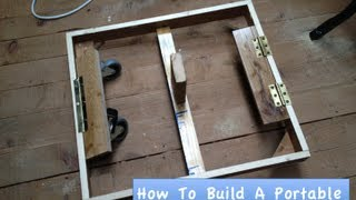 How To Build A Portable Table Saw Stand