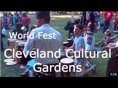 Cleveland World Cultural Gardens Festival August 2015 Parade Parties Food Fest