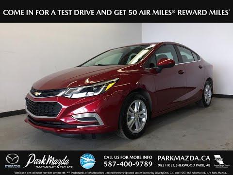 RED 2017 Chevrolet Cruze  Review Sherwood Park Alberta - Park Mazda