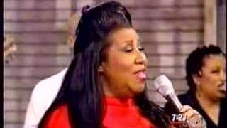 Aretha Franklin - Say A Little Prayer - GMA (1998)