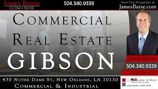 Lot 9 Highway 182 Gibson LA 70356 Buy Lease Vacant Land for Sale | JamesBarse.com