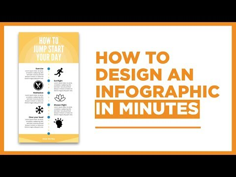 How to make an infographic in minutes
