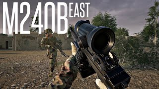 THE M240B IS A BEAST IN THIS GAME - SQUAD 40 VS 40 Realistic Gameplay