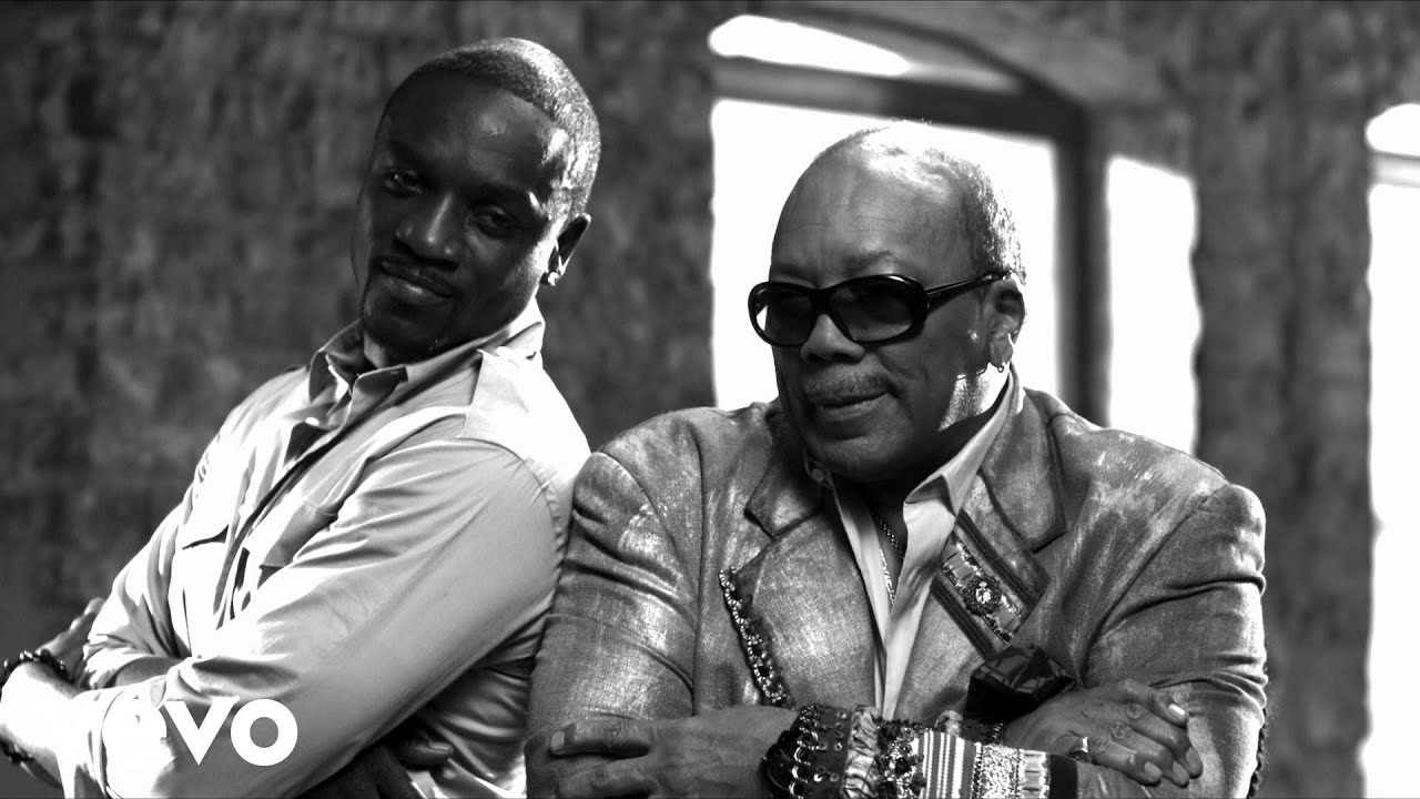 Quincy Jones Strawberry Letter 23 ft Akon