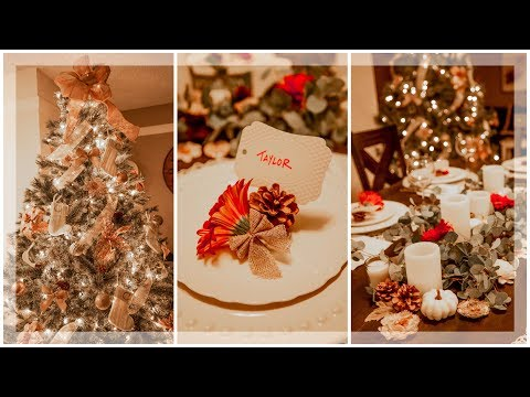 HOLIDAY DECORATION IDEAS! EASY AND CUTE!