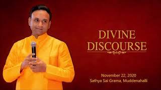 Divine Discourse by Sadguru Sri Madhusudan Sai - 22 November 2020, Athi Rudra Maha Yagna