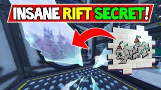 "*NEW* FORTNITE RIFT SECRET FOUND! ""CASTLE MAP IN RIFT?!"" (Fortnite Season 6 Storyline Map Secrets)"