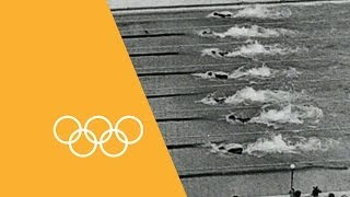 100m Freestyle - Through The Years | 90 Seconds Of The Olympics