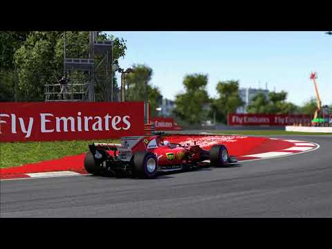 F1 2017 canada ferrari