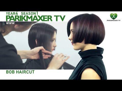 Стрижка на среднюю длину. Новая техника 2017 года.парикмахер тв parikmaxer.tv
