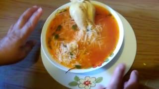 Como hacer sopa de fideo con pollo