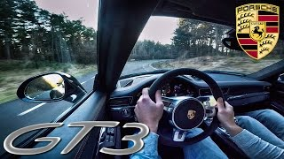 Porsche 911 GT3 991 Test Drive & Interior Sound!