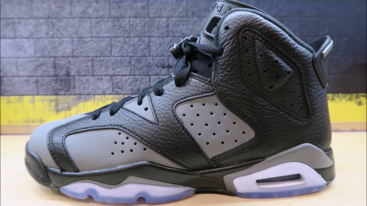 new styles 16ee1 41752 Air Jordan 6 VI Cool Grey GS Sneaker Detailed Look   Review