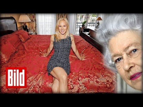 Queen Elizabeth 2 besucht Deutschland - Ihr Bett im Adlon Berlin