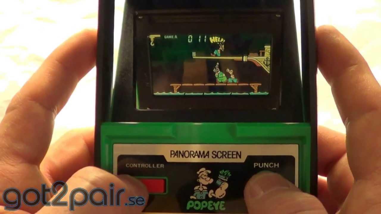 Nintendo Popeye (Rare 1981)