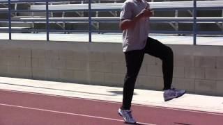 Sprint Drills for Speed, Run Faster, Plyometrics, Jump Higher by David Warren (Dave King) part 1/4