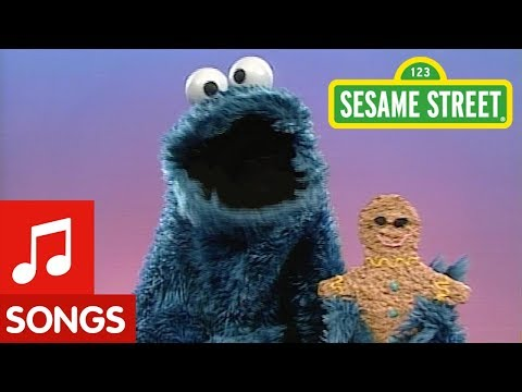 Sesame Street: Cookie Monster Sings About Gingerbread Man