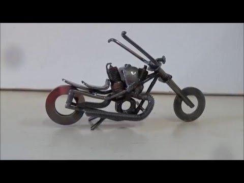 Tig Welder Project - Steel Model Motorcycle