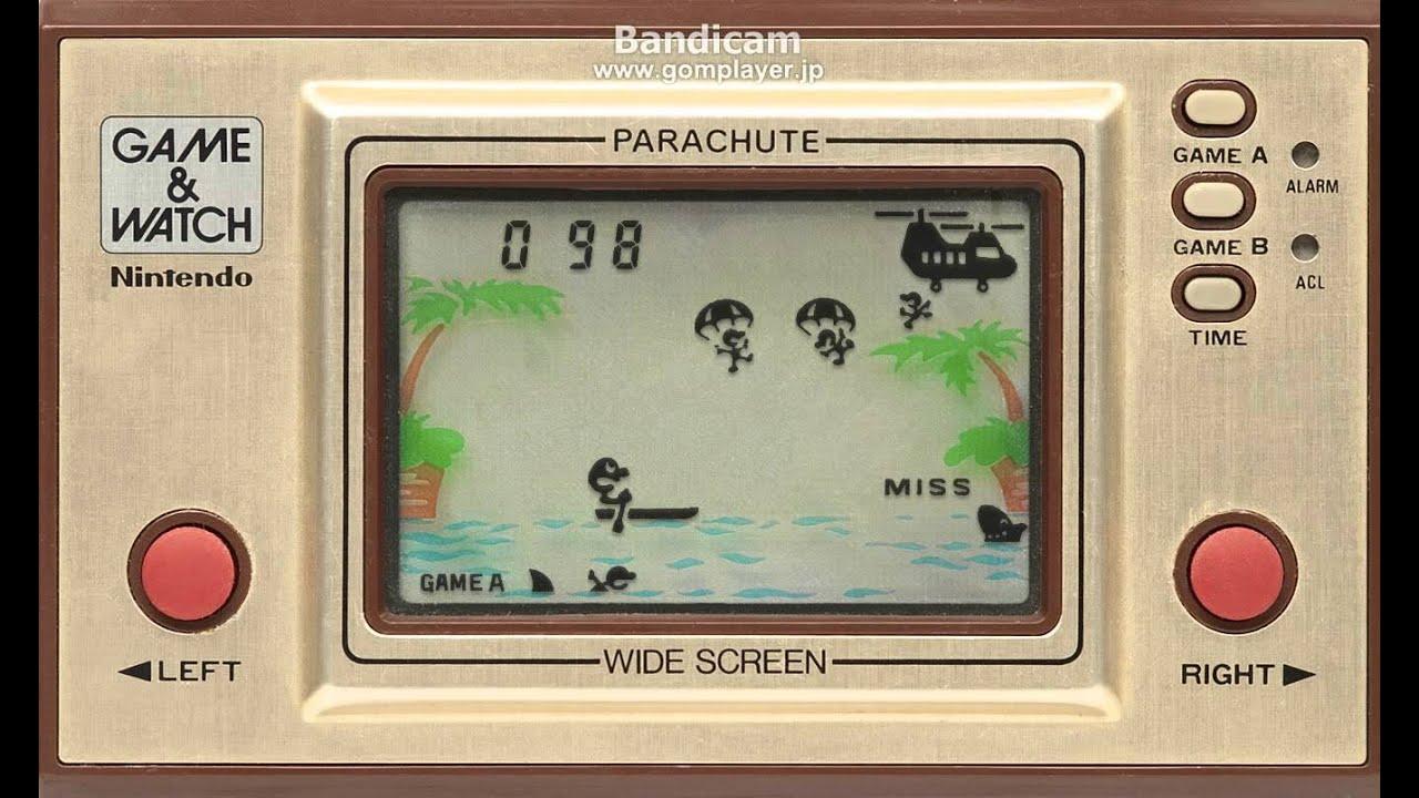 【GAME  WATCH ゲームウォッチ】 PARACHUTE(パラシュート)を実況プレイ 1