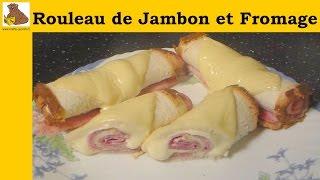 rouleaux de jambon et fromage