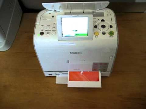 NEW DRIVER: CANON SELPHY ES2 PRINTER