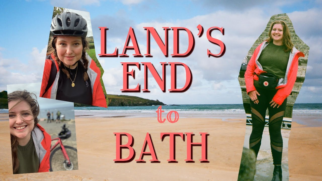 I cycled across Cornwall 🚲  | Land's End to Bath in 7 days