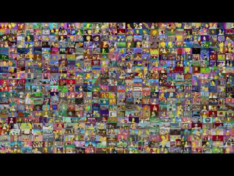 The Simpsons (554 Episodes At The Same Time)