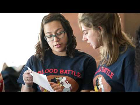 Be a Hero at the Big House organ donaton and blood drive on YouTube