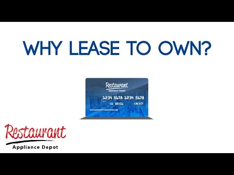 Why Lease to Own?