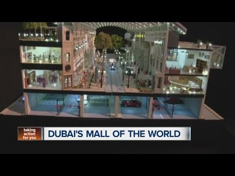 Dubai's Mall of the World, temperature-controlled city