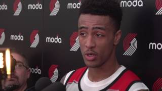 Draft prospect john collins meets the portland media
