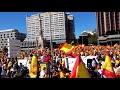 Yo estuve en la masiva manifestación POR LA UNIDAD DE ESPAÑA en Madrid el 7 oct 2017