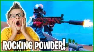 ROCKING THE POWDER SKIN!!!