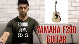 Yamaha F280 Acoustic Guitar - Sound Demo