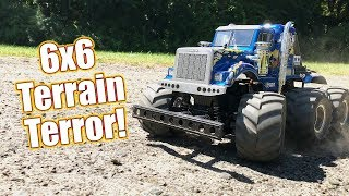 This RC Truck Goes Wherever It Wants! - Tamiya Konghead 6x6 | RC Driver