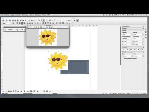 Libre Office Bildhintergrund transparent machen